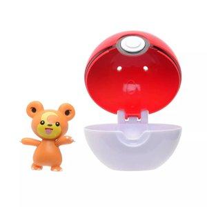 Pokémon: Teddiursa & Poké Ball - Clip 'n' Go