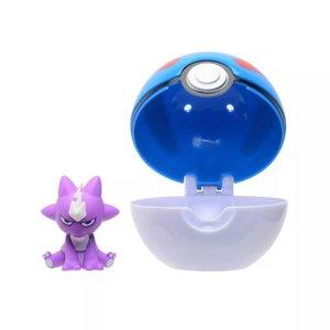 Pokémon: Toxizap & Super Ball - Clip 'n' Go