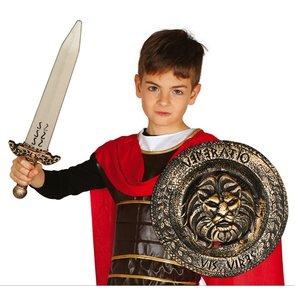 Épée romaine avec bouclier