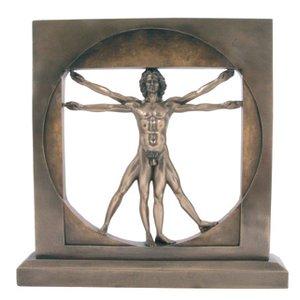 Da Vinci: Vitruvianischer Mensch