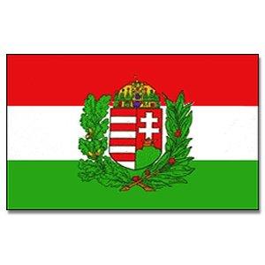 Ungarn mit Wappen