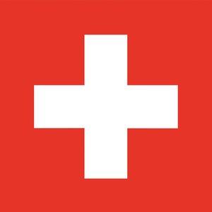 Svizzera - Primo agosto (90 x 90 cm)