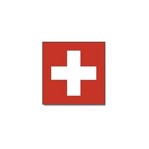 Svizzera - Primo agosto (150 x 150 cm)